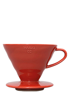 Hario V60 Dripper 02 (ceramic-red)