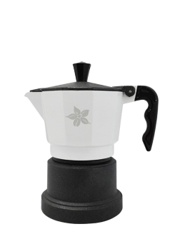 Espresso Stove Top Maker (white-1 cup)