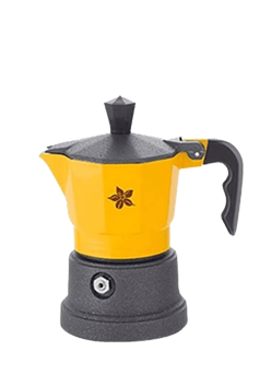 Espresso Stove Top Maker (yellow-1 cup)