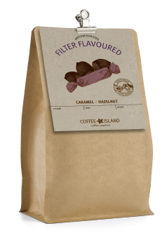 Filter Flavoured Caramel-Hazelnut