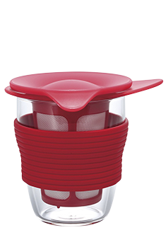 Hario Handy Tea Maker (red)